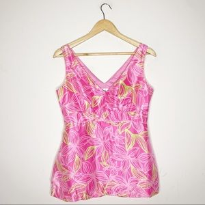 Lilly Pulitzer Silk Sleeveless Blouse Size 4